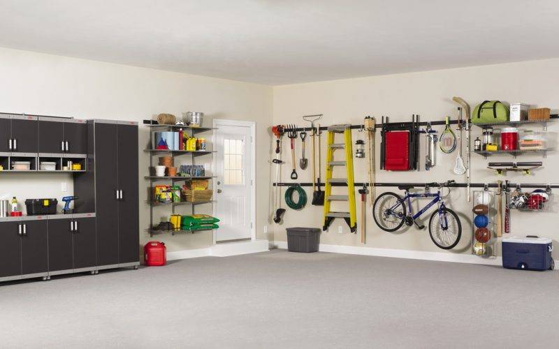 Spacious and clean garage